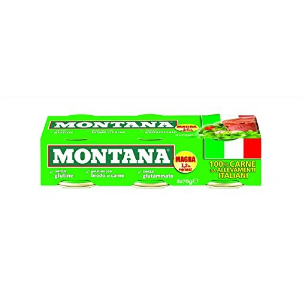 MONTANA LESSATA CONFEZIONE DA 3 PER 70 GR