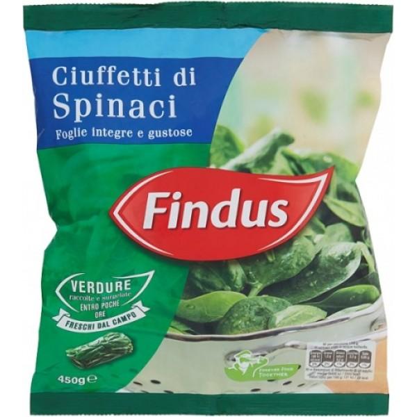 FINDUS CIUFFETTI DI SPINACI 450 g