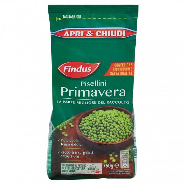 FINDUS PISELLINI PRIMAVERA 750 g