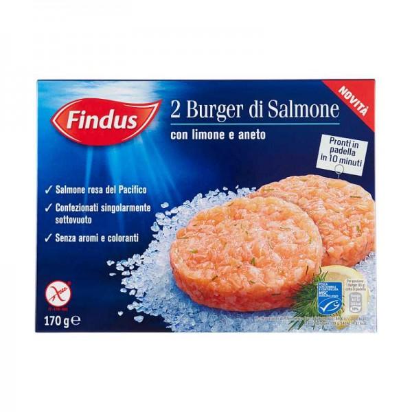 FINDUS BURGER DI SALMONE