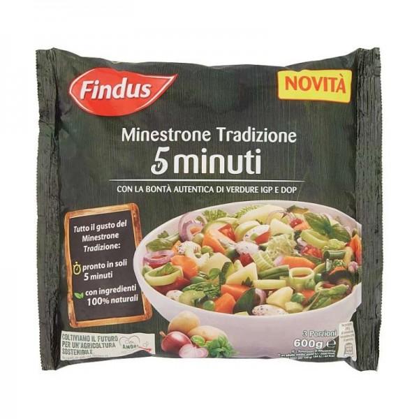 FINDUS MINESTRONE 5 MINUTI 600 g
