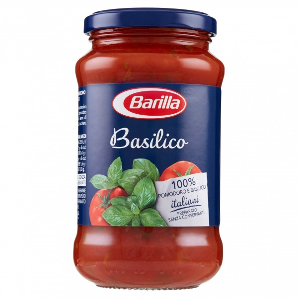 BARILLA SUGO BASILICO 400 GR
