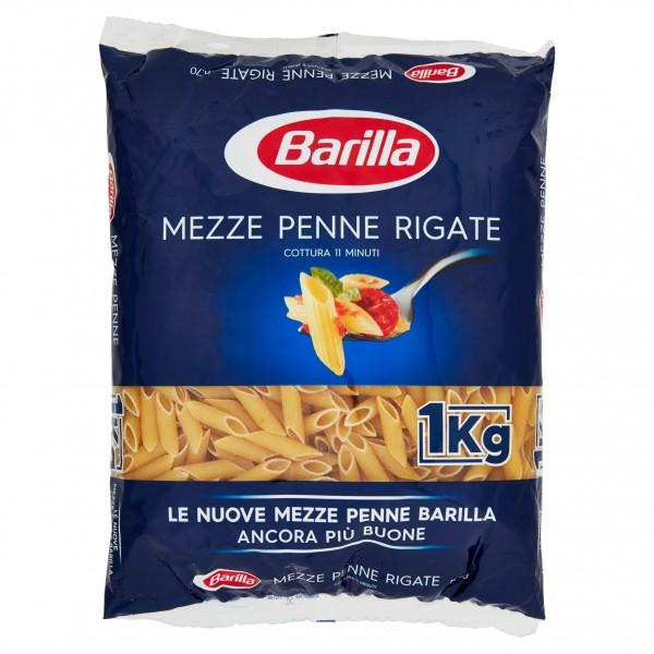 BARILLA MEZZE PENNE 1 KG