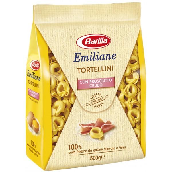 EMILIANE TORTELLLINI PROSCIUTTO CRUDO 500 GR