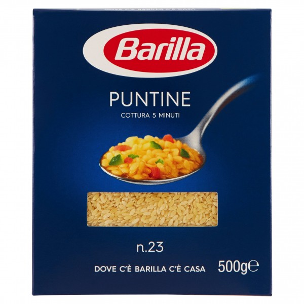 BARILLA PUNTINE 500 GR