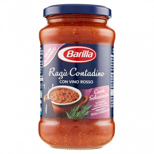 BARILLA RAGU'CONTADINA 400 GR