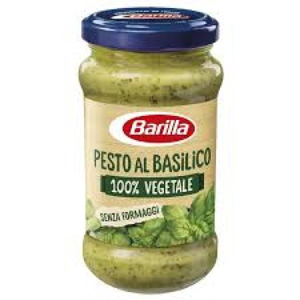 BARILLA PESTO BASIL.VEGAN 195