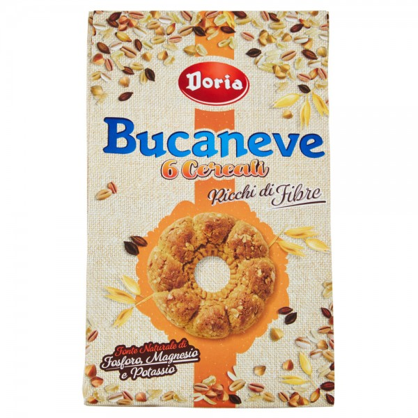 BUCANEVE NEW SACCO 6 CEREALI 300 GR