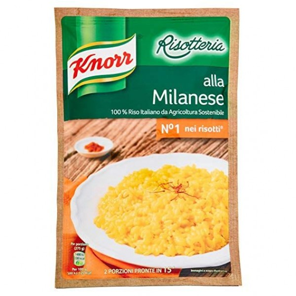 KNORR RISOTTO MILANESE 175 GR