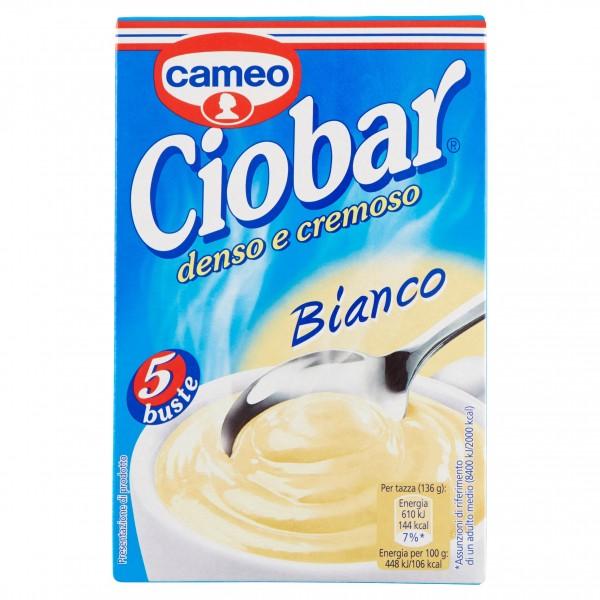 CAMEO CIOBAR BIANCO 5 BUSTINE 10 GR