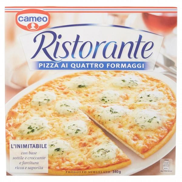 CAMEO RISTORANTE PIZZA AI QUATTRO FORMAGGI