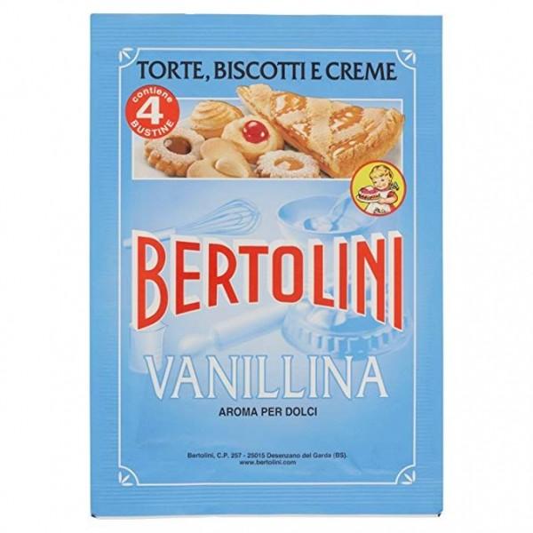 BERTOLINI VANILLINA CONFEZIONE DA 4