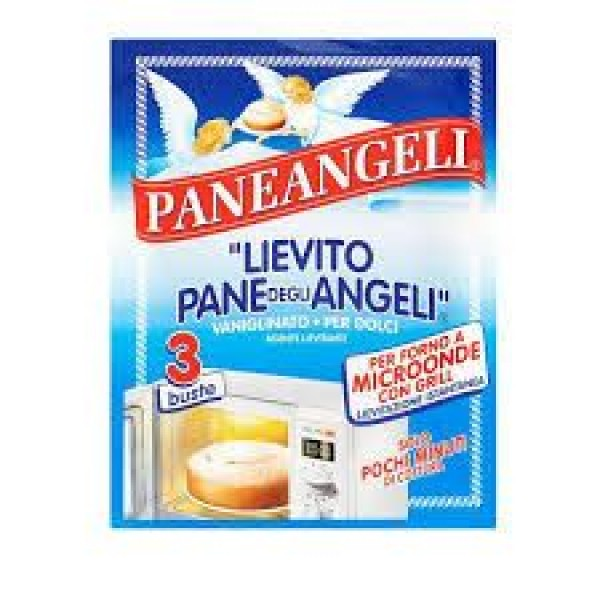 PANE ANGELI LIEVITO MICROONDE 3 BUSTINE