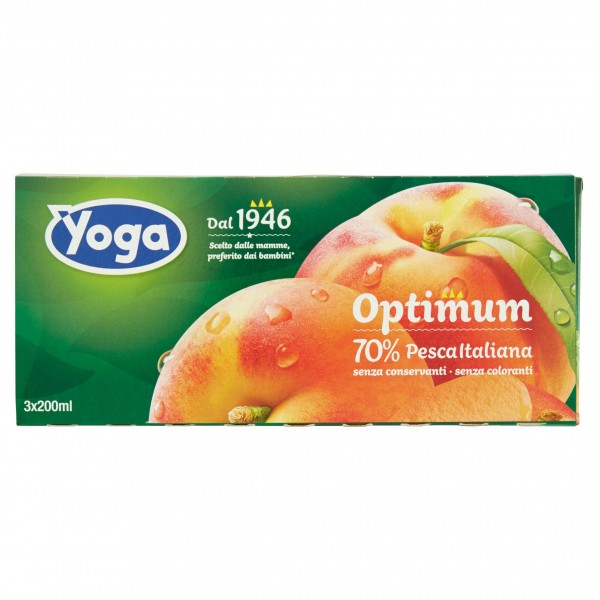 YOGA OPTIMUM NETT. PESCA 3X200