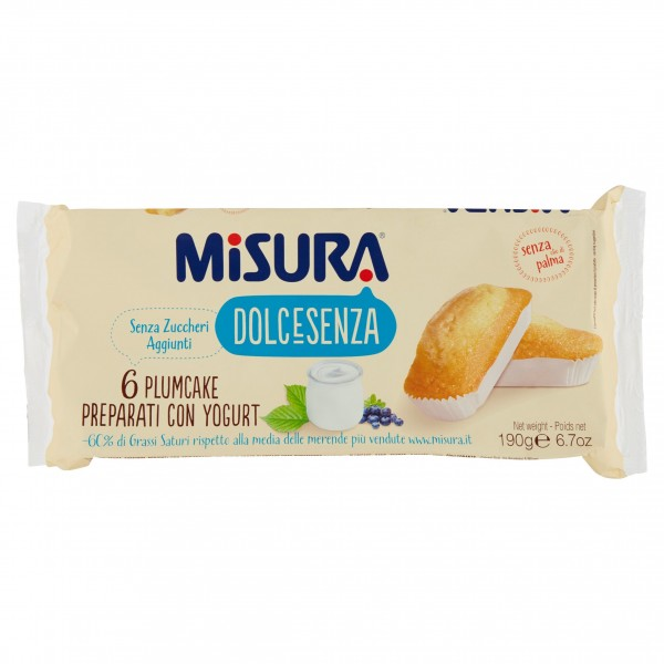 MISURA PLUMCAKE S/Z GR190