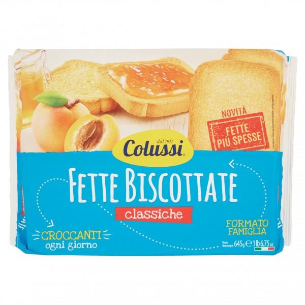 COLUSSI FETTE BISCOTTATE CLASSICI 645 GR