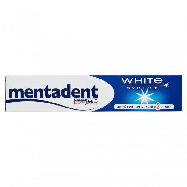 MENTADENT DENT.75ML WHITESYSTE
