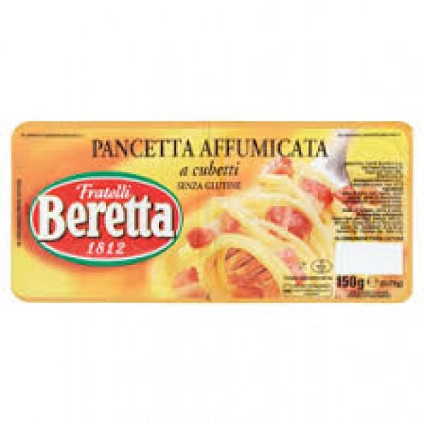 BERETTA PANCETTA AFFUMICATA CUBETTI 300 GR
