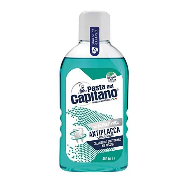 PASTA DEL CAPITANO COLLUTTORIO ANTIPLACCA 400 ML