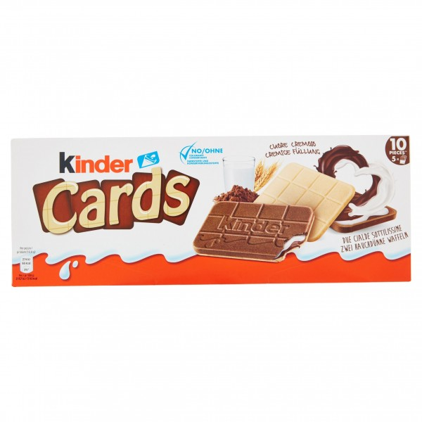 KINDER CARDS LA-CA 2x5 AS X 20