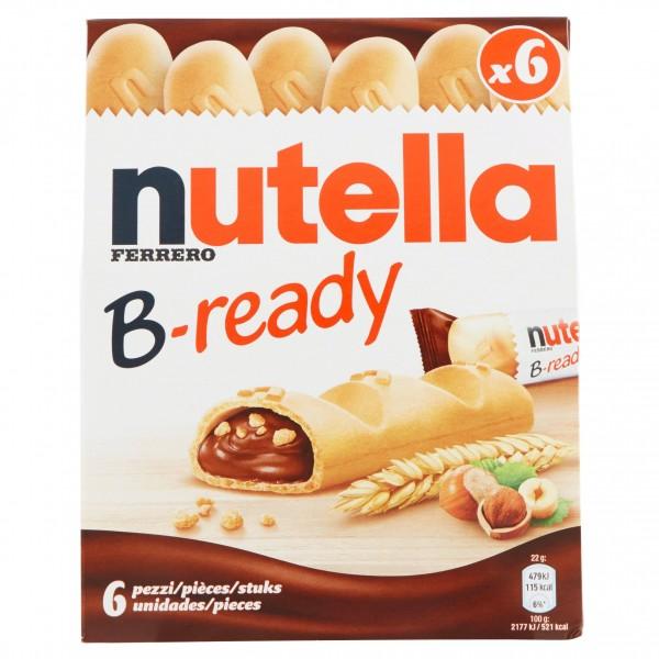 FERRERO NUTELLA B-READY CONFEZINE DA 6