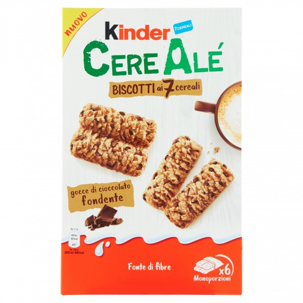 KINDER CEREALE BISC.DARK 204GR