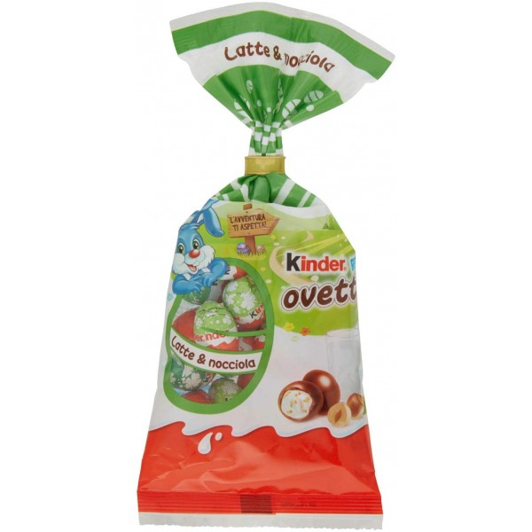 FERRERO KINDER MINI EGGS NOCCIOE 150 GR