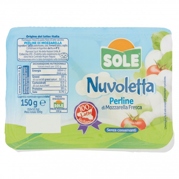 SOLE NUVOL.PERLINE VASCH.150 g