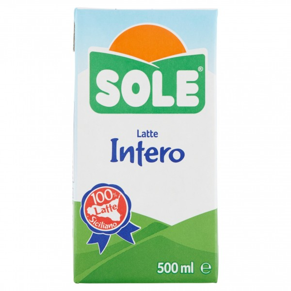 SOLE LATTE UHT INTERO ML.500