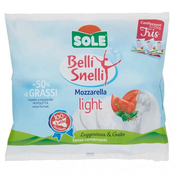 SOLE BELLI & SNELLI MOZZARELLA 3 X