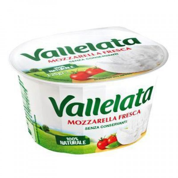 VALLELATA MOZZARELLA 125 GR