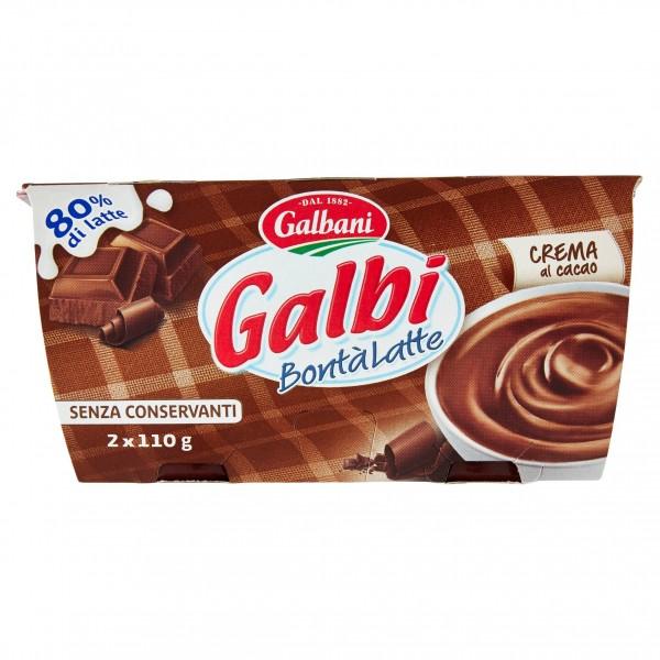GALBI BONTA'LATTE CACAO 110x2