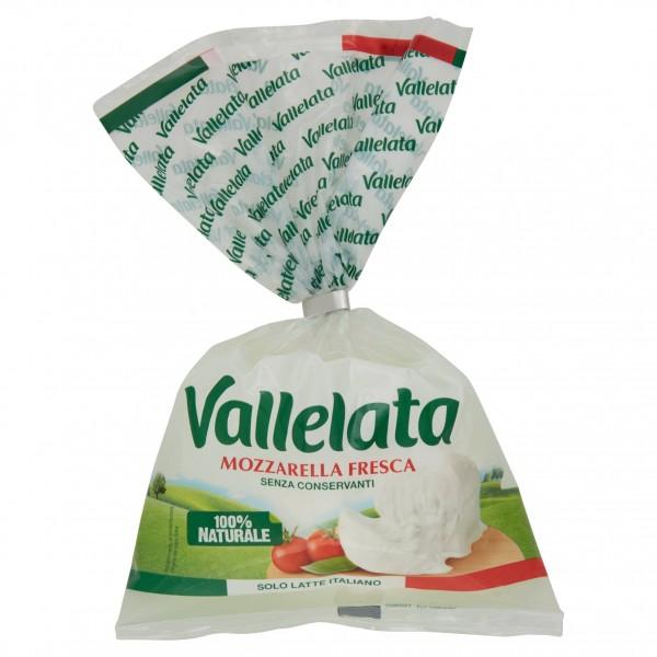 VALLELATA MOZZARELLA CIUFFO 180 GR