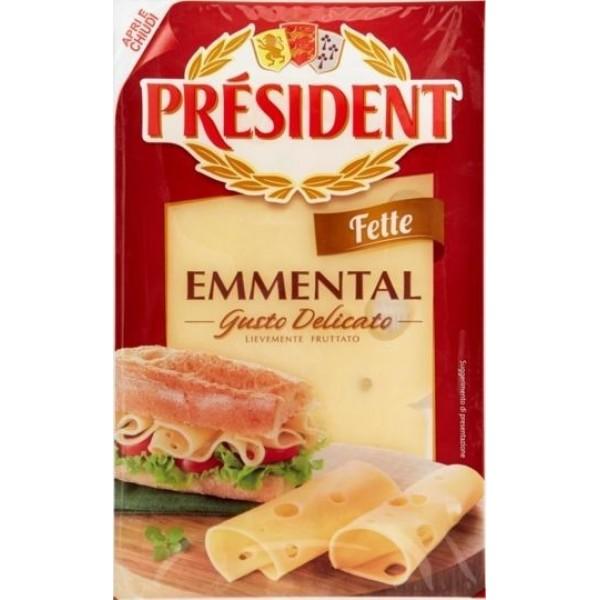 PRESIDENT EMMENTAL FETTE 100 g