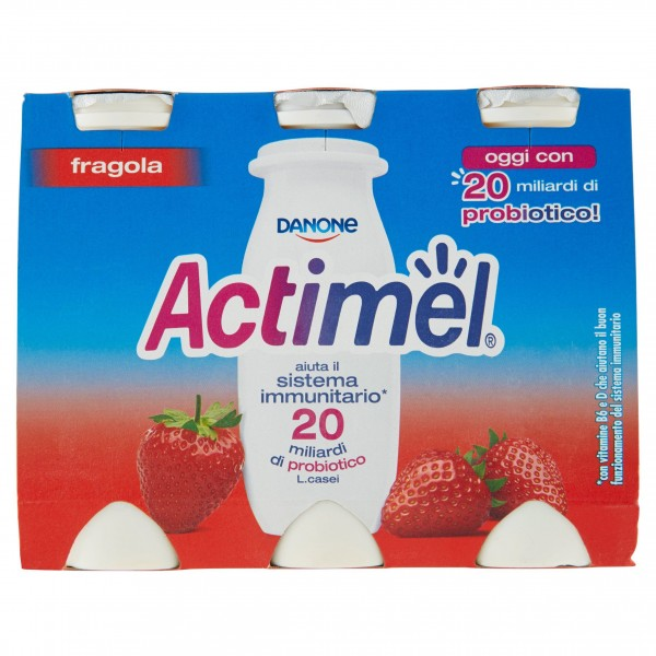 ACTIMEL FRAGOLA 6X100 g