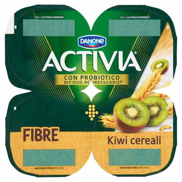 ACTIVIA KIWI/CEREALI GR.125X4