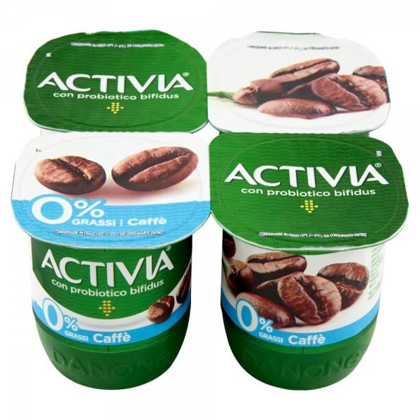 ACTIVIA 0% CAFFE' 4X125