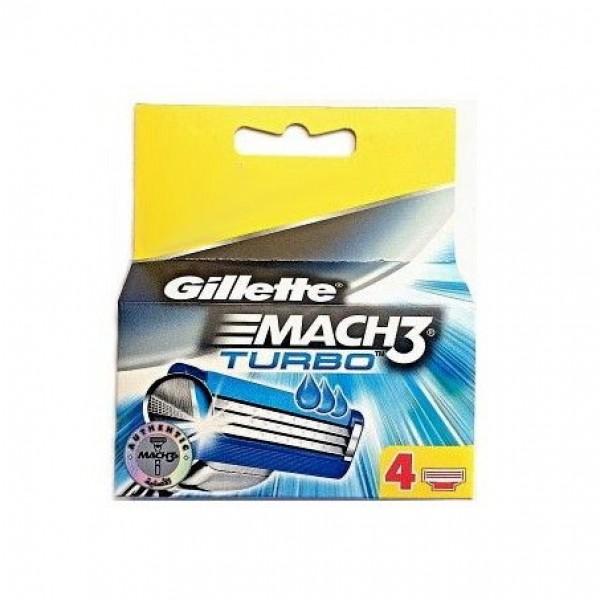 GILLETTE MACH3 LAME TURBO X4