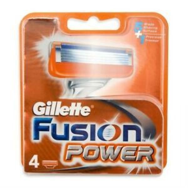 GILLETTE LAME FUSION POWER CONFEZIONE DA 4