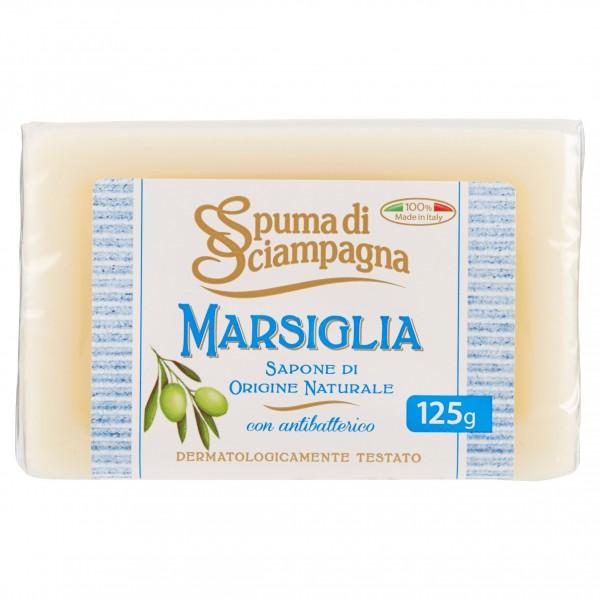 SPUMA DI SCIAMPAGNA SAPONCINO MARSIGLIA NATURALE 125 GR