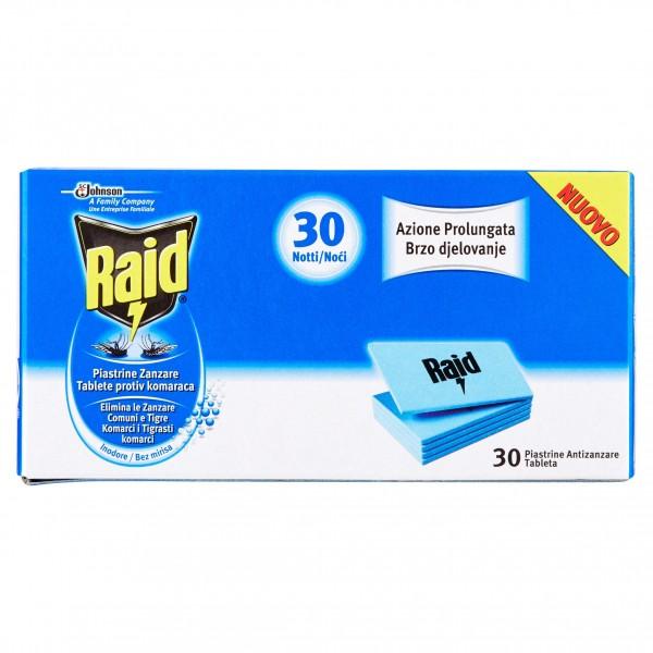 RAID PIASTRINE X 30PZ