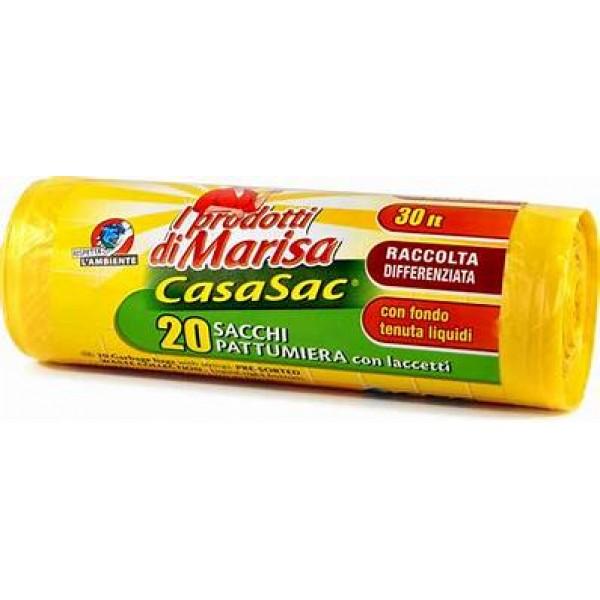 MARISA SACCHI 55X65 GIALLI CON MANICO