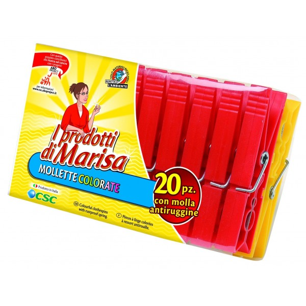 MARISA MOLLETTE PLASTICA 20 PZ