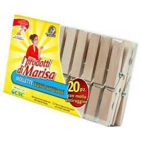 MARISA MOLLETTE LEGNO 20 PZ