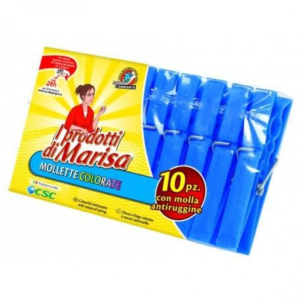 MARISA BLU MOLLETTE PLAST.X10#