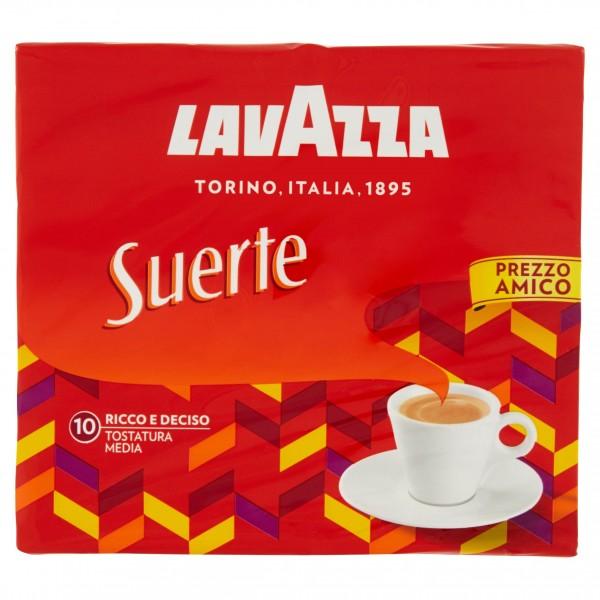 LAVAZZA CAFFE SUERTE CONFEZIONE 2 DA 250 GR