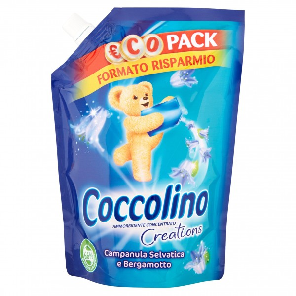 COCCOLINO POUCH 700ML CREATION
