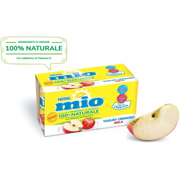 NESTLE' YOGURT MIO MELA 2x125