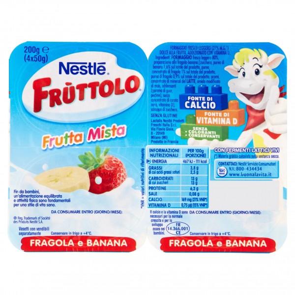 FRUTTOLO FRAGOLA BANANA