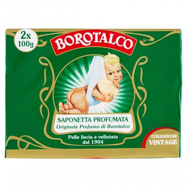 BOROTALCO SAPONETTA 100 GR CONFEZIONE DA 2